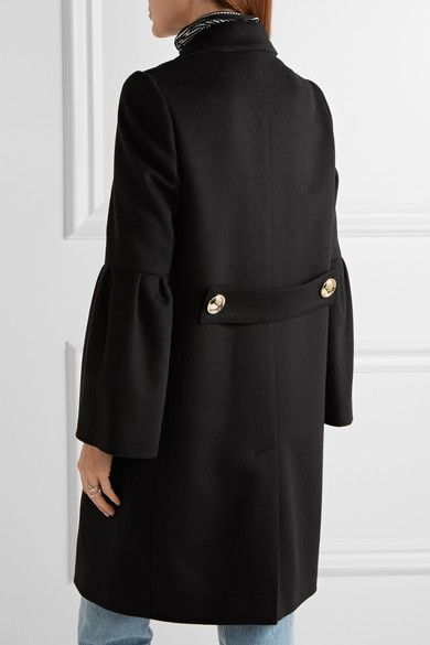 Burberry - Wool And Cashmere-blend Coat - Black - UK
