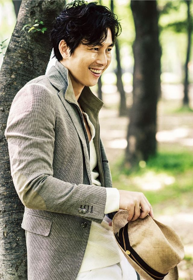 Jung Woo Sung - L'Officiel Hommes Magazine July Issue 13