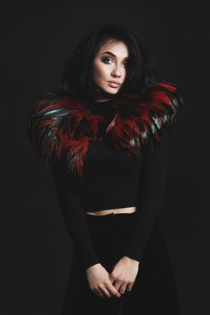 Haute Couture  Feather Accesories created by Diana Rogo. Shop them on http://dyrogue.com/shop #FeatherManifesto