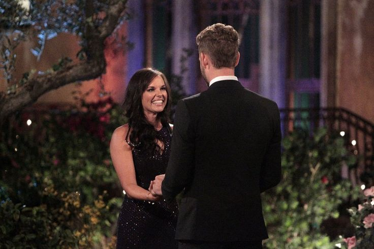 Briana Guertler and Nick Viall - Briana Guertler a 28-year-old surgical unit nurse from Salt Lake City UT meets The Bachelor star Nick Viall in a sequin black dress.