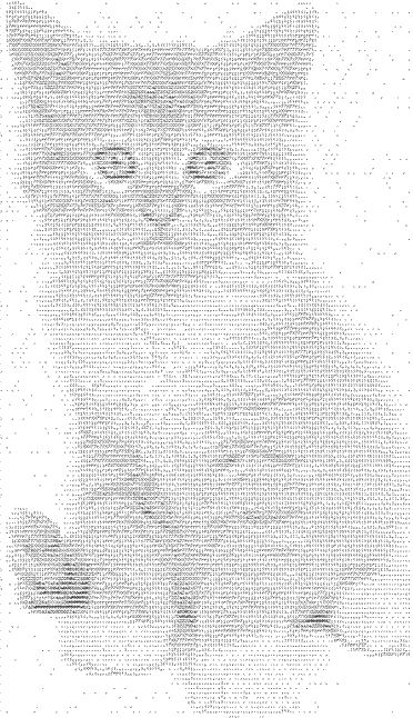♥♥♥ Cats: ASCII Art