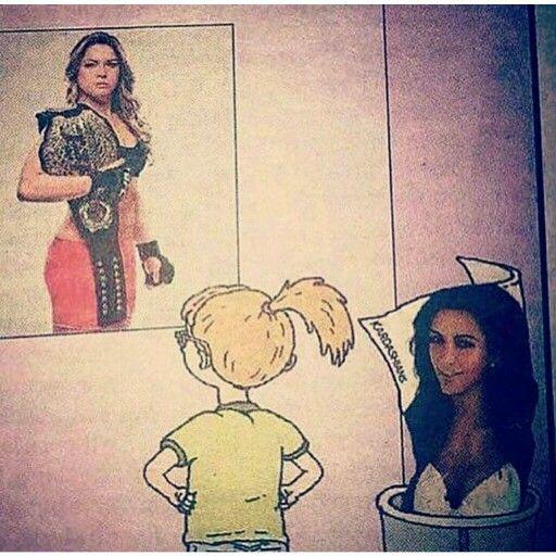 Ronda Rousey is probably the best female role model as far as celebrities go. #MMA #Fanart