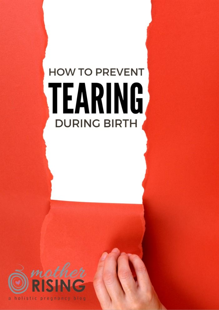 Want to know how to prevent tearing during birth? Here are 5 surprising ways to prevent tearing that you'll want to add to your birth plan.