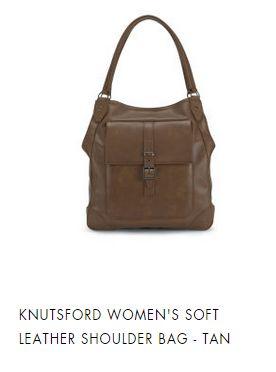 KNUTSFORD SOFT LEATHER SHOULDER BAG