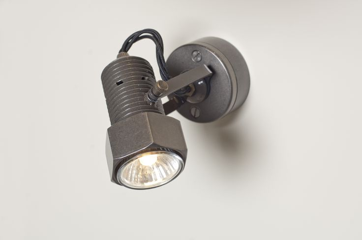 This stylish Bolt Spot Light in Polished is perfect for a workshop or over any task workspace.