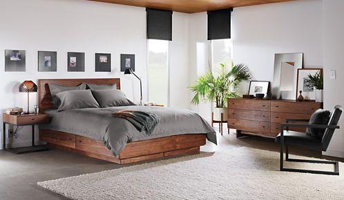 Hudson Bed with Storage Drawers - Hudson Storage Drawer Bed - Bedroom - Room & Board