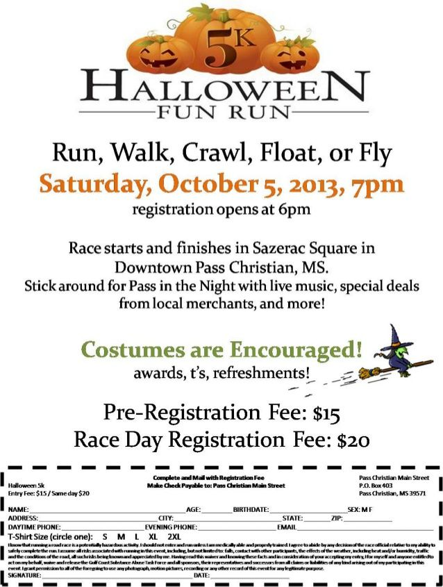 halloween 5k fun run fundraiser - Halloween Fundraiser Ideas