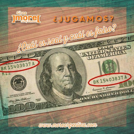 ¿Cómo detectamos si un billete de #dólar es #falso? ➟ Examina los #NúmerosDeSerie. ┏ Debería haber dos números de serie ubicados en la cara del billete, en ambos lados del retrato. Asegúrate ambos concuerden. ┏ Revisa su color. Debería coincidir con el color del sello del Departamento del Tesoro de los Estados Unidos. ┏ Deben estar espaciados de manera equitativa y alineados perfectamente.