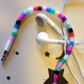 Beaded Ear Buds | Peacha Designs