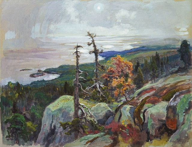 Eero Järnefelt, slikar ~ F I N S K A