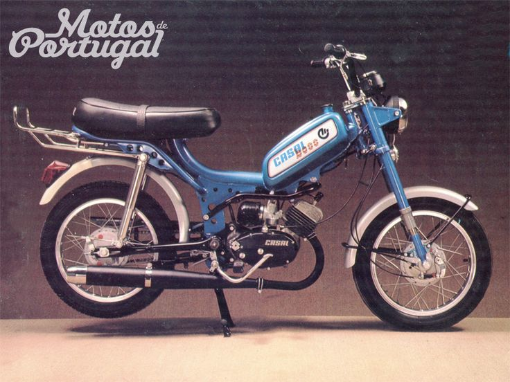 Vintage Casal K168s Boss (Made in Portugal) my first moped 1979