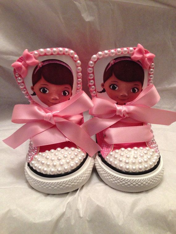 Doc mcstuffins custom converse by Jadassparkle on Etsy, $90.00