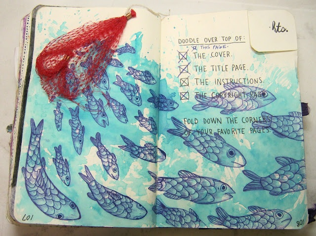Wreck This Journal #WTJ #WreckThisJournal because it said so