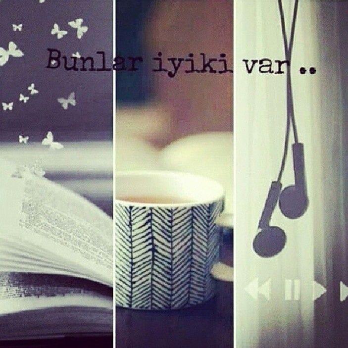Kitap-kahve-müzik ve bir de aşk...