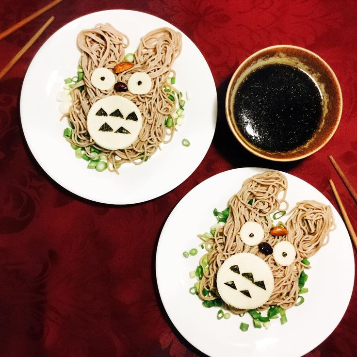 """829 Likes, 4 Comments - Style & Beauty by ARIANNE (@ariannechavasse) on Instagram: """"Totoro🙀💕 Made these amazing#totoro soba following @lichipan 's guide.👌🏻✨ #fun #totorofriday…"""""""