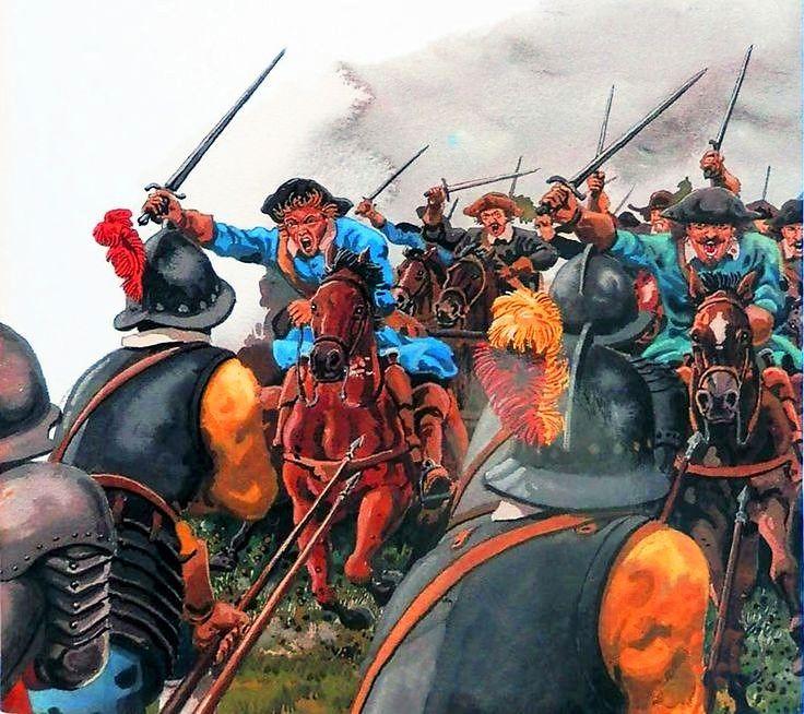 Resultat  d'imatges de La Guerra de los Treinta Años. Una tragedia europea (I) 1618-1630 fotos gravados