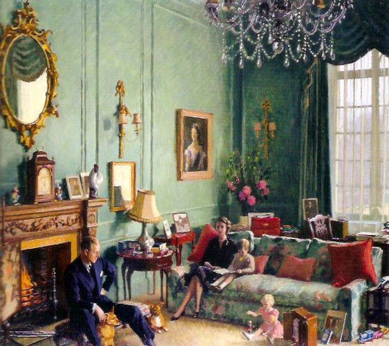 Inside Clarence House   Luke Honey   Decorative Antiques, Chess & Games