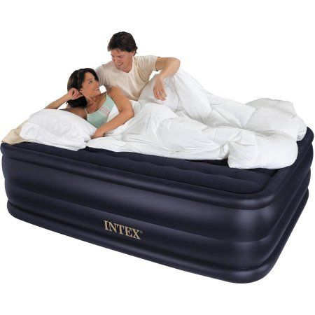 Camping Hiking Outdoor Inflatable Plush Raised Queen Air Bed Mattress – Vick's Great Deals