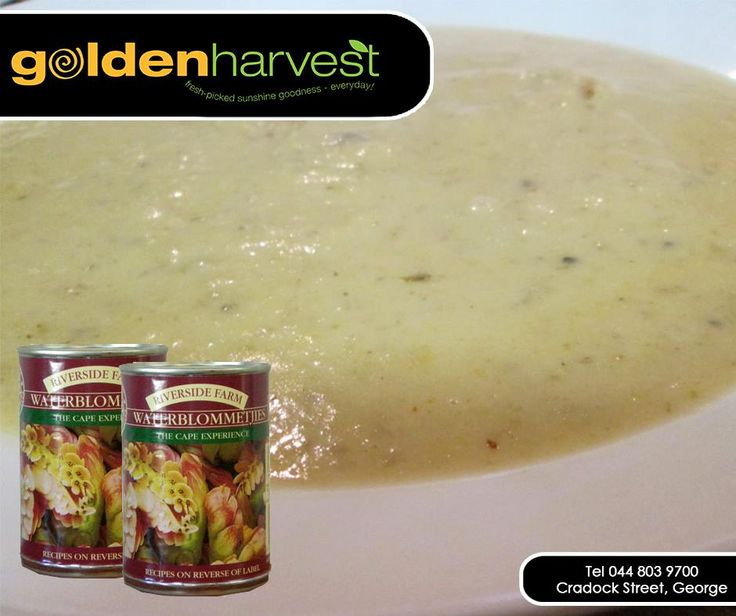 Nothing keeps you warm in this cold like delicious home cooked waterblommetjie soup. For full recipe - click here: http://apost.link/30s. Don't forget about our fantastic specials running until 01 February 2015, which includes waterblommetjies on special. #GoldenHarvest #waterblommetjie #soup #recipes.