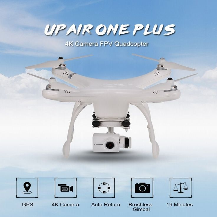 Drona UP Air One Plus Professional Version 5.8G, 16MP, video 4K