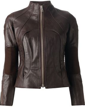 Junya Watanabe leather jacket on shopstyle.com