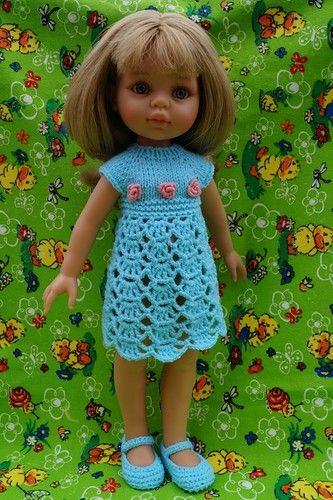 Весенние обновки для любимых куколок. Часть вторая. Кэрол от Паола Рейна. / Одежда и обувь для кукол - своими руками и не только / Бэйбики. Куклы фото. Одежда для кукол