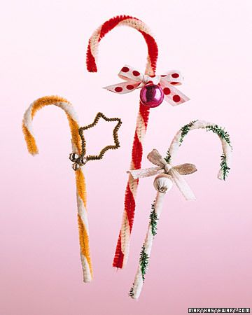 candy cane ornaments: Christmas Crafts, Miscellaneous, Pipe Cleaners, Candy Cans, Crafts Idea, Candy Canes, Cleaners Candy, Craft Ideas, Pipes Cleaners