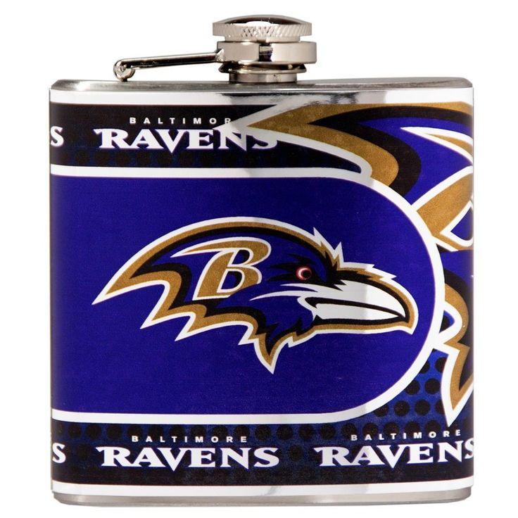 Baltimore Ravens Flask Stainless Steel Drink Bottle