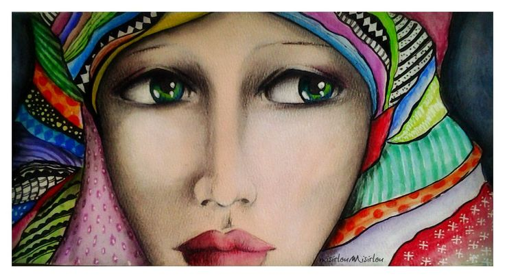 watercolor mixed media by misirloumisirlou