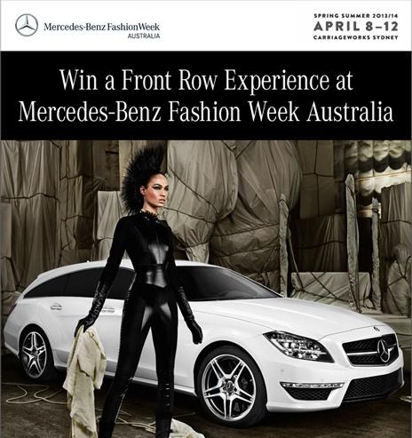 Mercedes-Benz Fashion Week Australia    campagna su pinterest