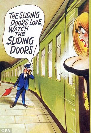 How the saucy postcard is back with a twist and a wink-wink ...