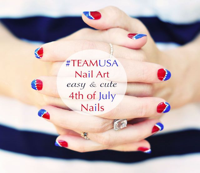1000 ideas about usa nails on pinterest american nails for 4th of july nail art decoration flag
