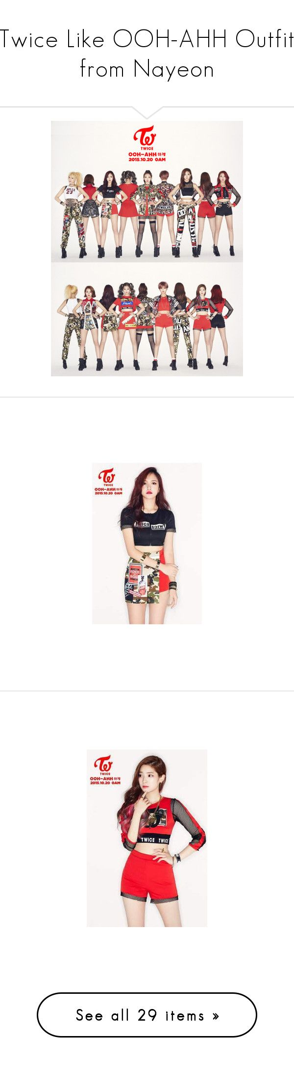 """""""Twice Like OOH-AHH Outfit from Nayeon"""" by schnpri ❤ liked on Polyvore featuring kpop, Maison Margiela, Le Ciel Bleu, Robert Talbott, Ash, twice, girlgroup, kpopoutfits, Tzuyu and Topshop"""