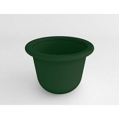 """TerraCastProducts Resin Pot Planter Color: Brazilian Terracotta, Size: 18"""" H x 46"""" W x 46"""" D"""