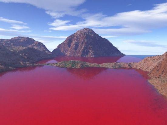 Blood Lake, West Texas #usa #travel #experiences