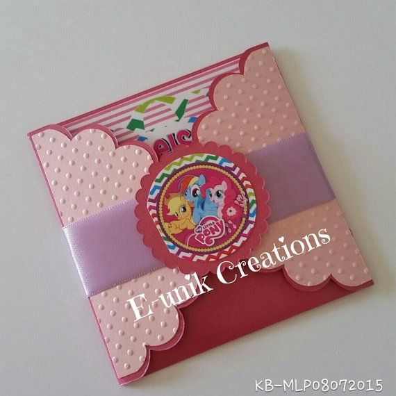 My Little Pony Invitations Birthday Inivtations by EunikCreations