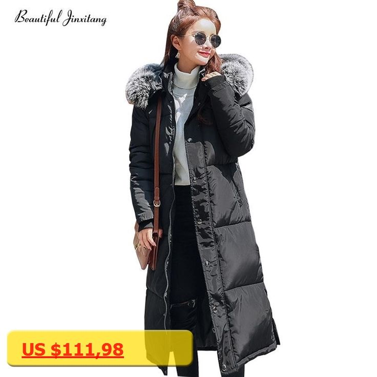 Vogue lady white duck down jackets big fur collor womens clothing solid color down coats comfortable and keep warm coats W100A8