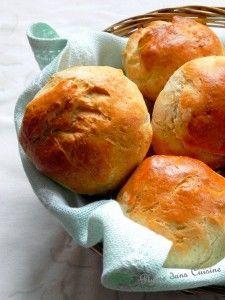 petits pains rapides et moelleux  pour le petit déjeuner