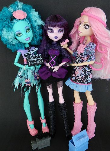 frights~camera~action monster high dolls