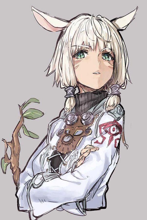 Final Fantasy Xiv Characters Character Art Anime Manga Art