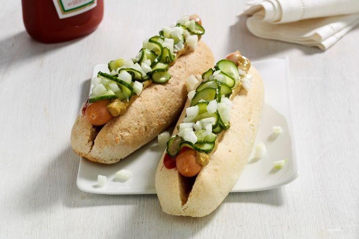 Hotdogs – klassisk med hjemmelavede brød