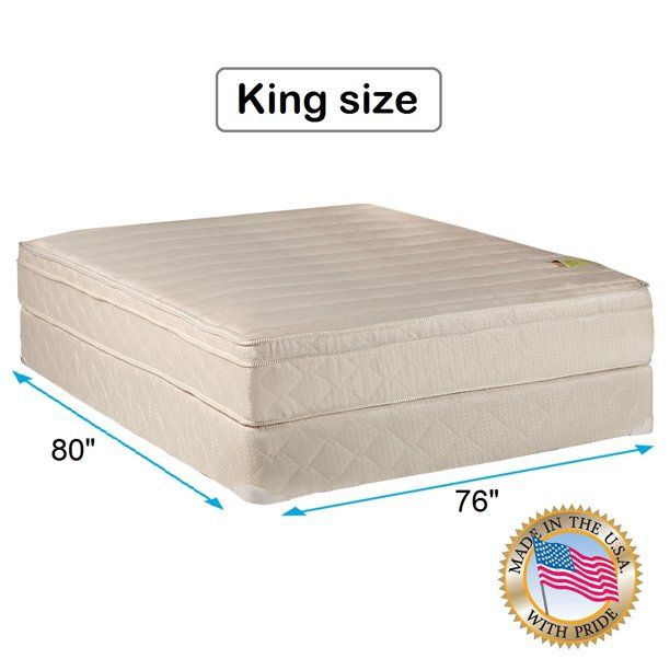 Bed With Mattress Included Comfort Pedic Firm Pillowtop Eurotop Mattress Set With Bed Frame Included Sle Mattress Sets Pillow Top Mattress Mattress Covers King size bed with mattress included