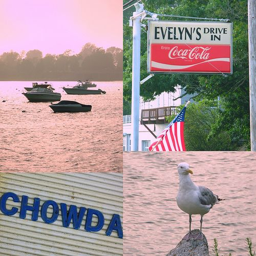 Rhode Island Beaches: Rhode Island Dining: Evelyn's Drive In