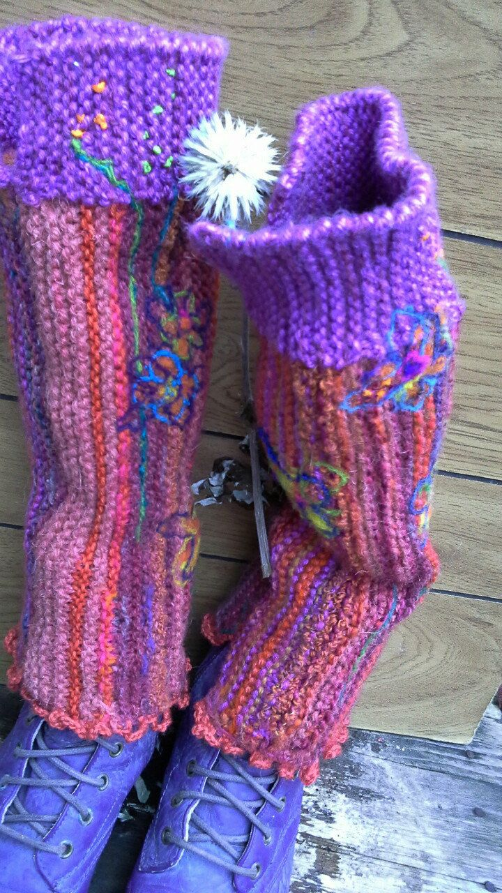 leg warmers for women, knit  boot leg warmers, womens pink leg warmers by BAGSBAGSBAGSBAGS on Etsy