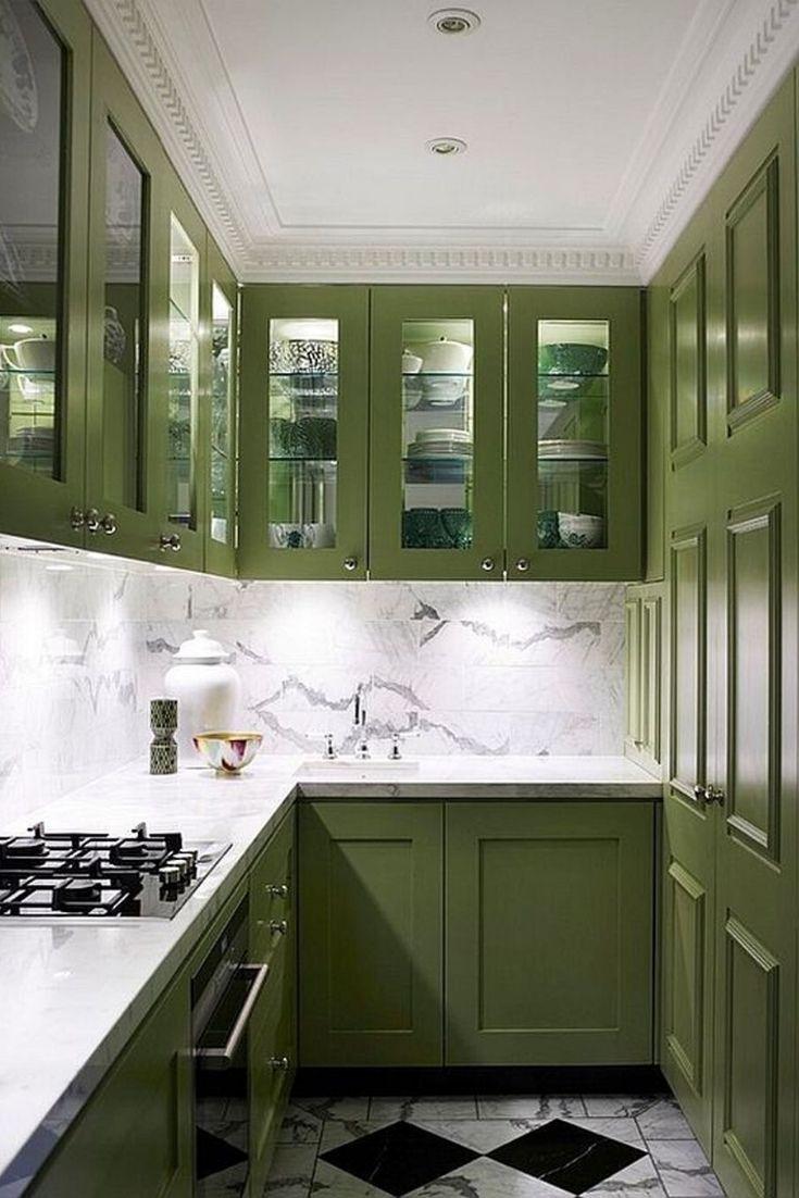 galley kitchen design small unique modern galley kitchen ideas in 2020 dark green kitchen on kitchen ideas unique id=80887