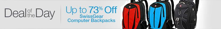 Georgine Saves » Blog Archive » Good Deal: Computer Backpacks from SwissGear up to 73% Off TODAY ONLY!