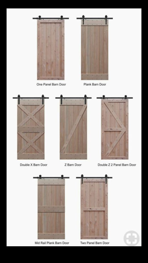 Custom rustic sliding barn doors for Sale in Tacoma, WA