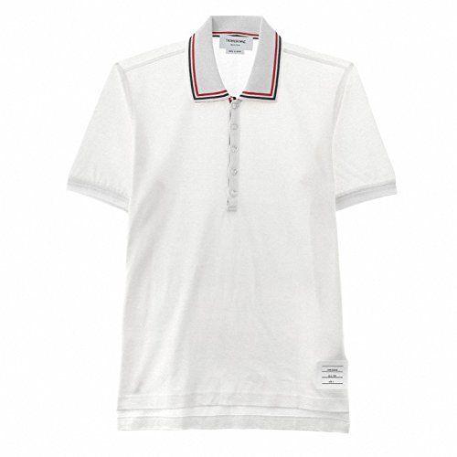 (トムブラウン) THOM BROWNE MJP017AK9863 ポロシャツ 半袖 Tシャツ ホワイト (並行輸入品) RICHJUNE (0) トムブラウンTHOM BROWNE http://www.amazon.co.jp/dp/B01410CUFM/ref=cm_sw_r_pi_dp_lVG3vb0P8J3AE