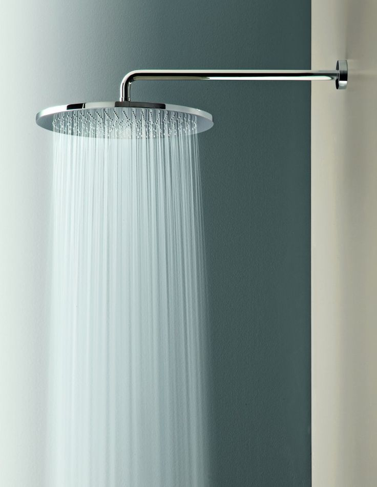 rain shower heads | Round Rain Showerhead and Arm TS50