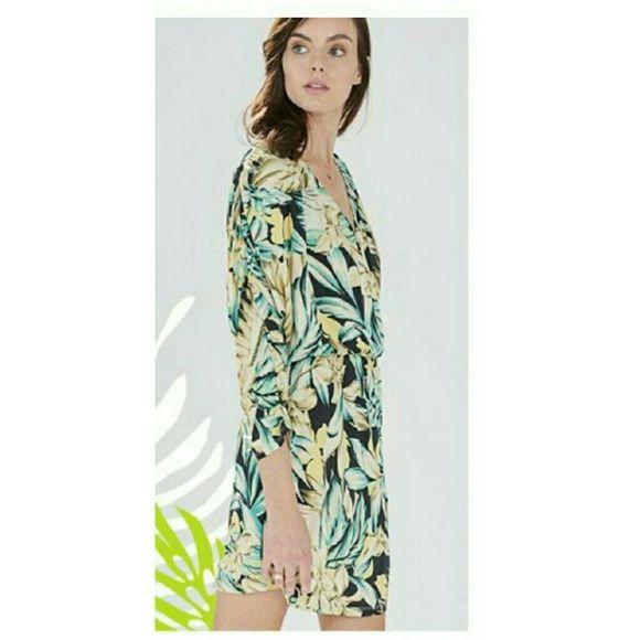 Parker NY Catalina Dress New with tags: Sample Sale Catalina Dress in Tropical Print Parker Dresses Mini